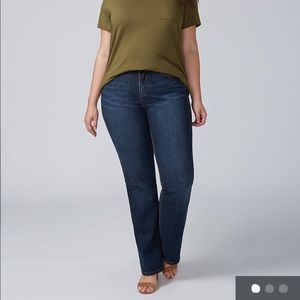 Lane Bryant Mid-Rise Boot jeans